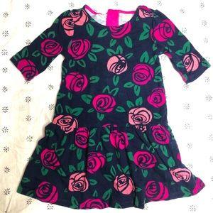 Gymboree Rose Floral swing dress